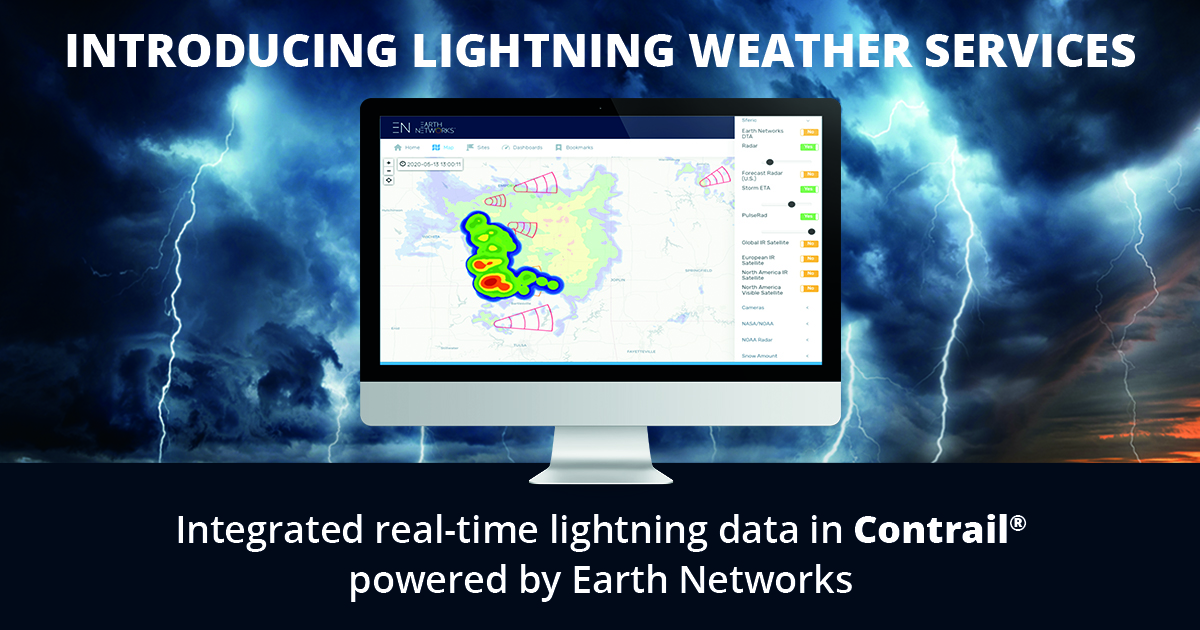 Introducing Lightning Weather Services in Contrail